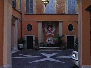 ローマにあるマルタ騎士団本部