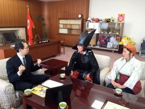 福島県知事表敬訪問